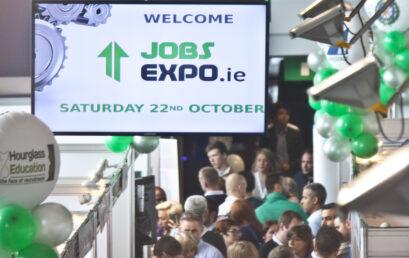 Highlights from Jobs Expo Dublin, October 2016