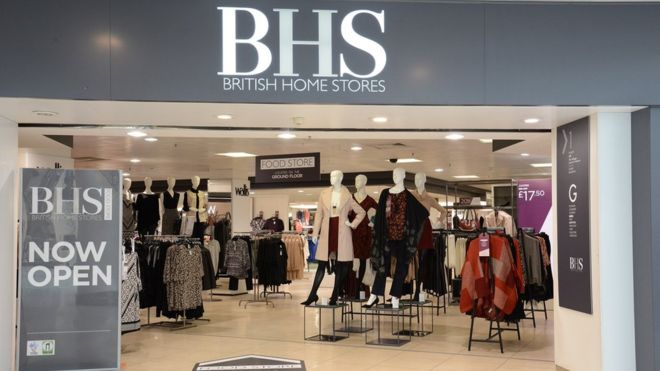 BHS goes into administration