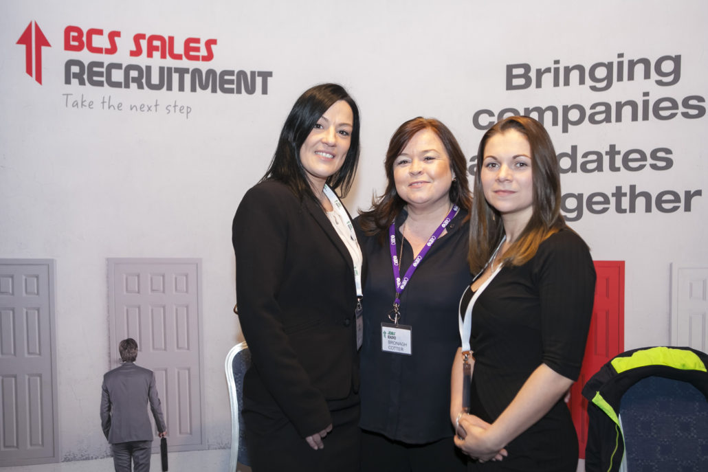 They're back! Get advice from BCS Sales Recruitment at Jobs Expo Dublin
