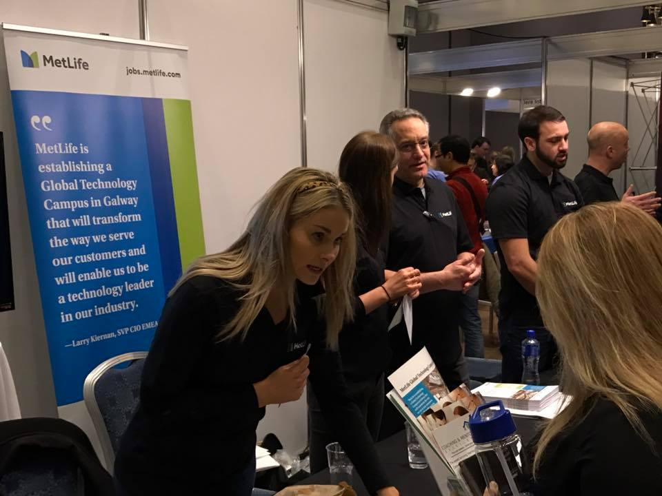 Employers at Jobs Expo Galway February 2017.