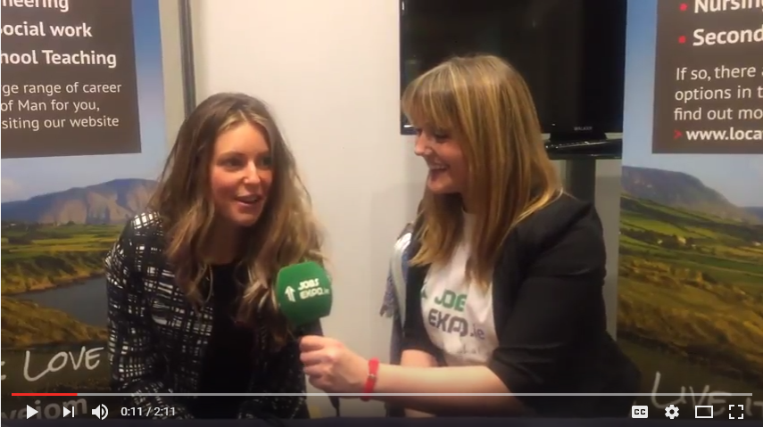 Jobs Expo TV spoke with the Isle of Man Government