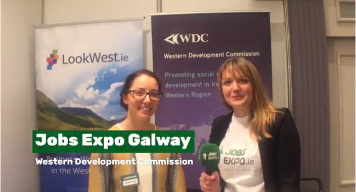 Jobs Expo TV spoke with Western Development Commission