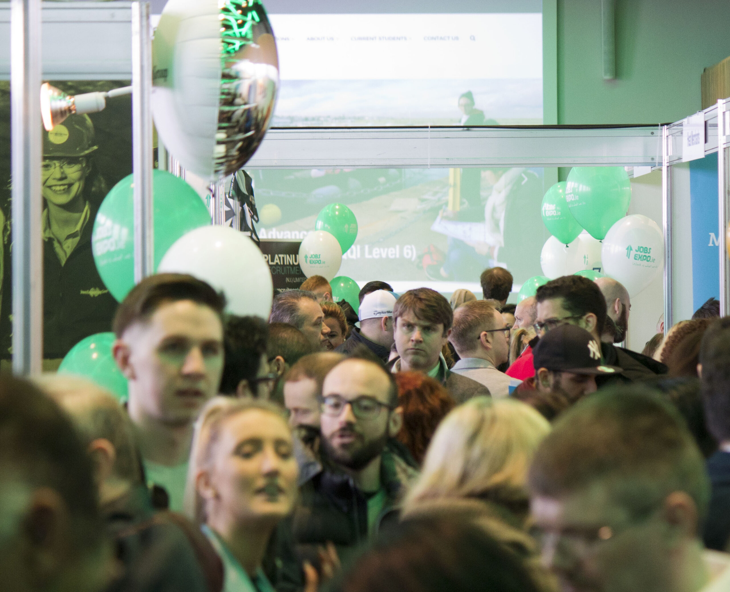 Here's your photo round up of Jobs Expo Dublin April 2017