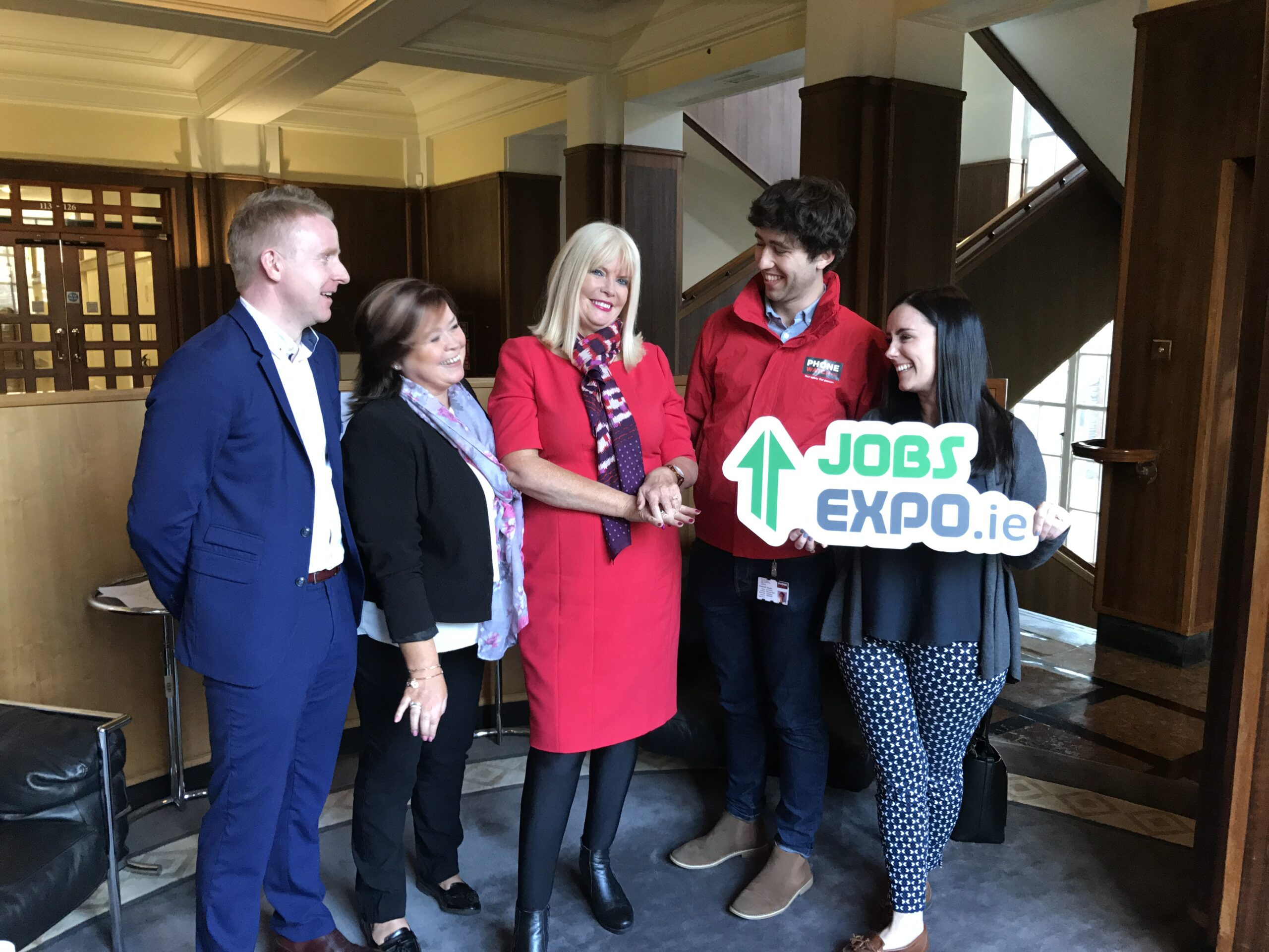 Minister for Jobs, Enterprise and Innovation officially launches Jobs Expo Dublin