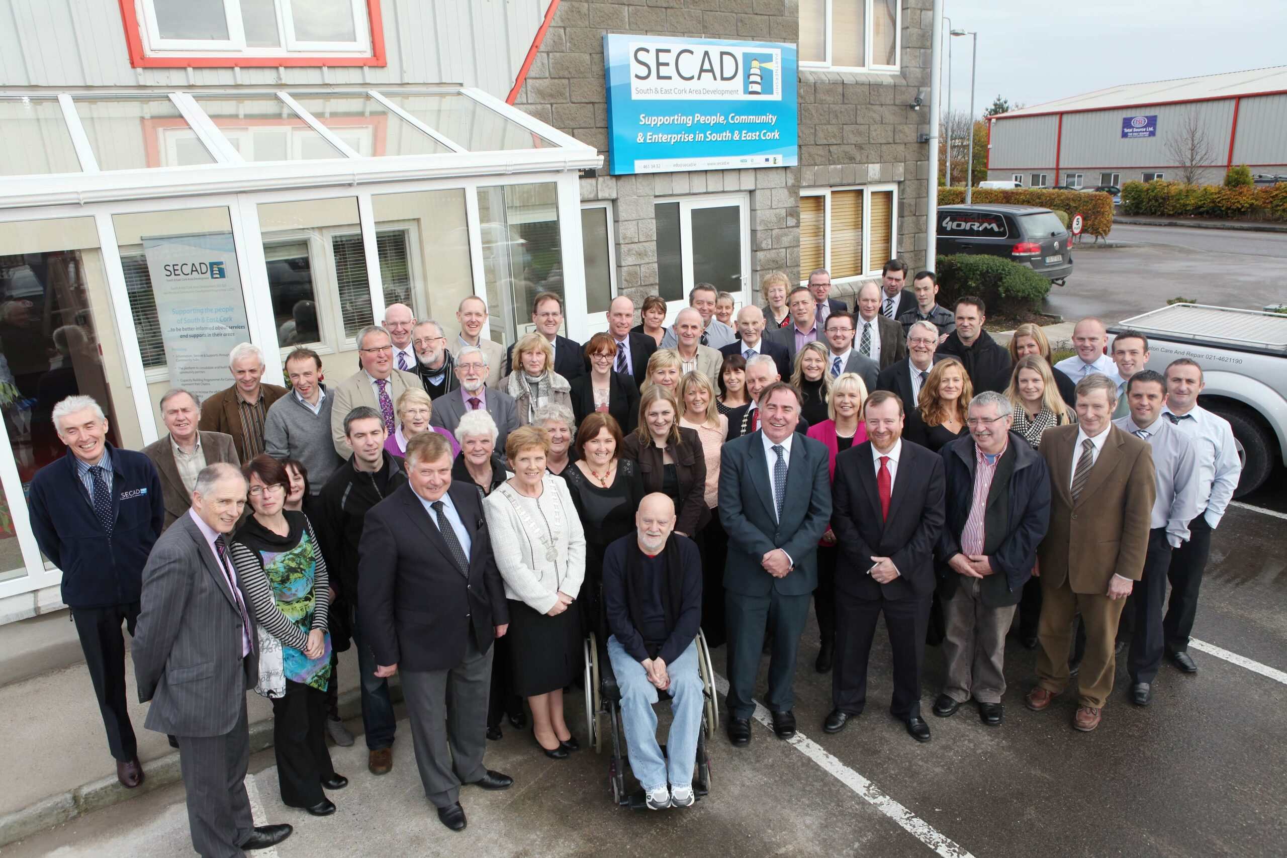 Find out how SECAD can help you at Jobs Expo Cork