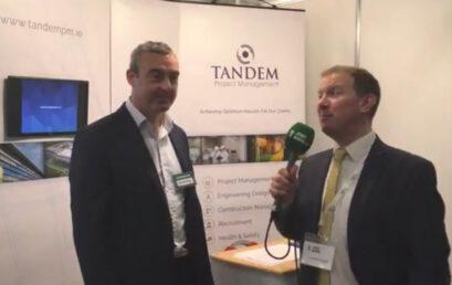 Jobs Expo TV meets Tandem Project Management at Jobs Expo Cork