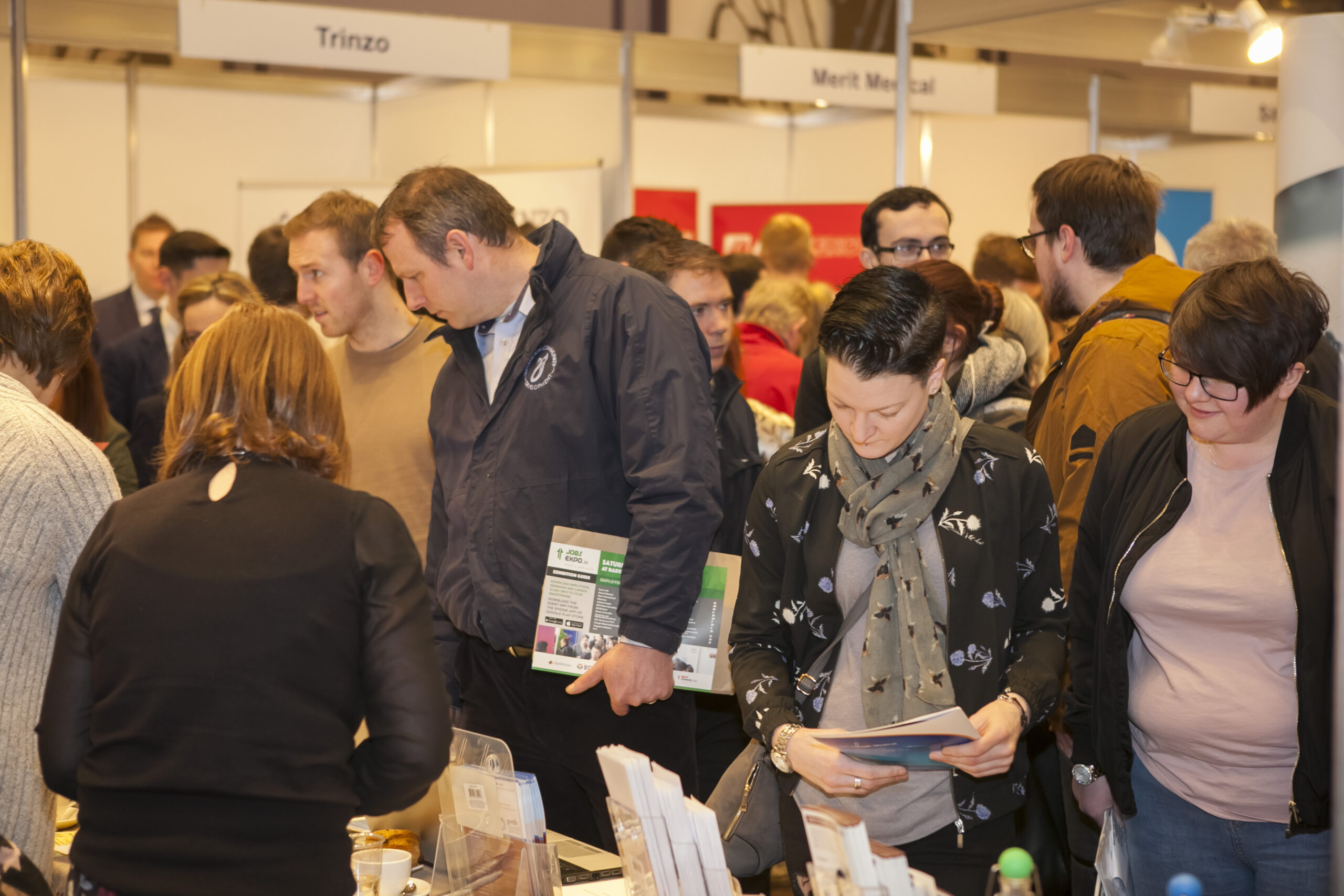 Here's your full exhibitor list for Jobs Expo Galway