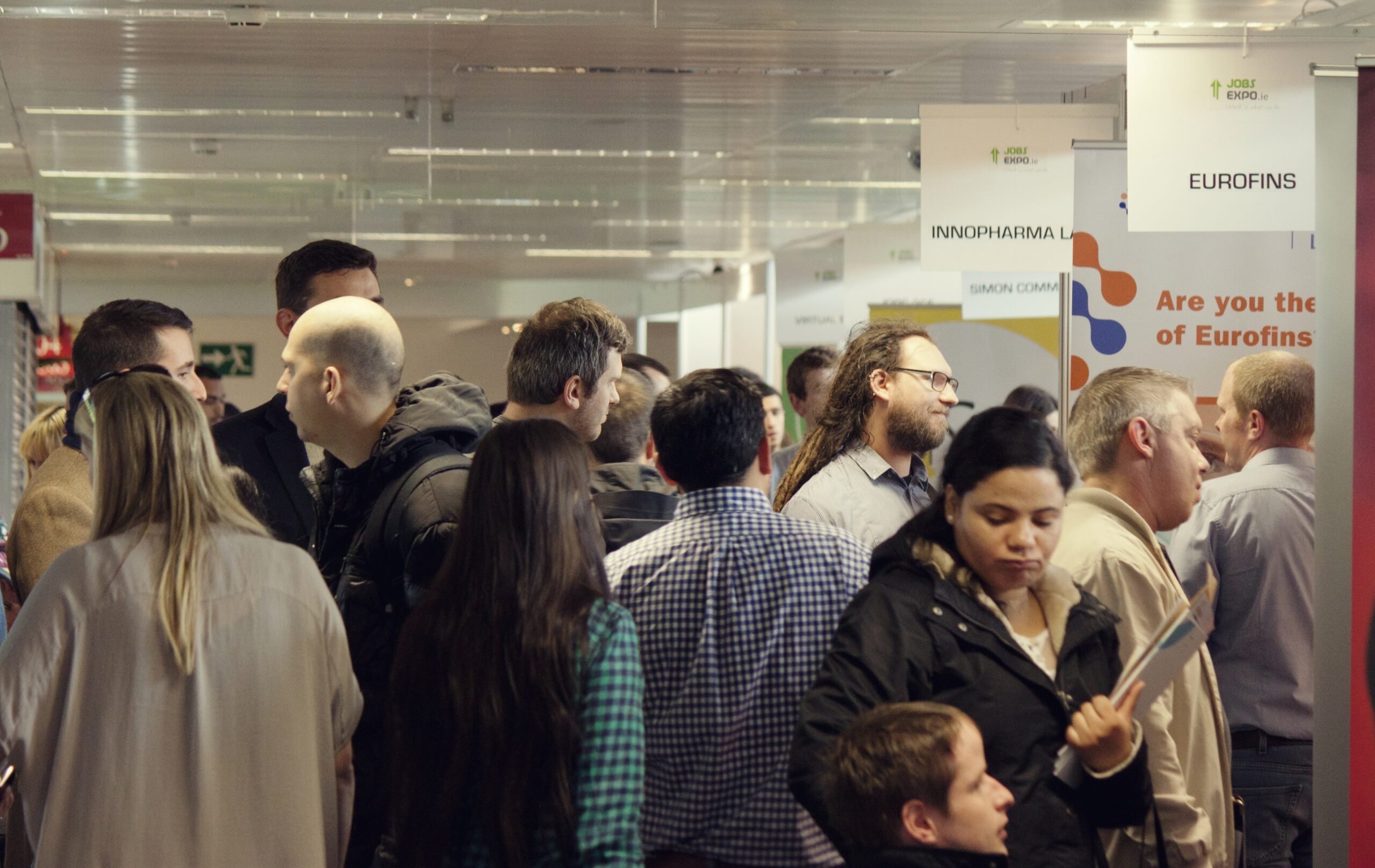 Your Jobs Expo Dublin exhibitor list for this Saturday