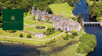Ashford Castle check-in for Jobs Expo Galway