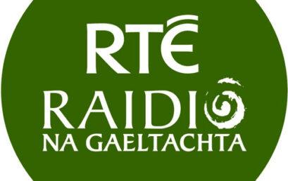 Laois de Cantalún speaks with Raidio Na Gaeltachta about Jobs Expo Galway