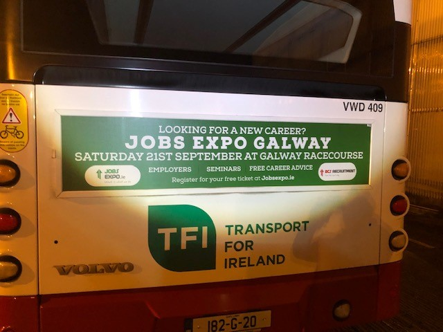 Jobs Expo Galway On The Buses