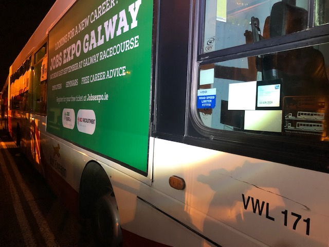 Jobs Expo Goes 'On The Buses' in Galway