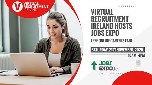 Virtual Recruitment Expo – Bigger, Better & Online this November 21st